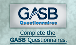 Complete the GASB Questionnaires