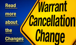 Read More About the Warrant Cancellation Change
