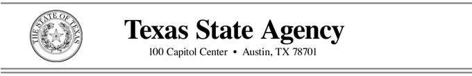 Texas State Agency