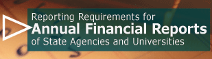 Reporting Requirements for Annual Financial Reports (AFRs)